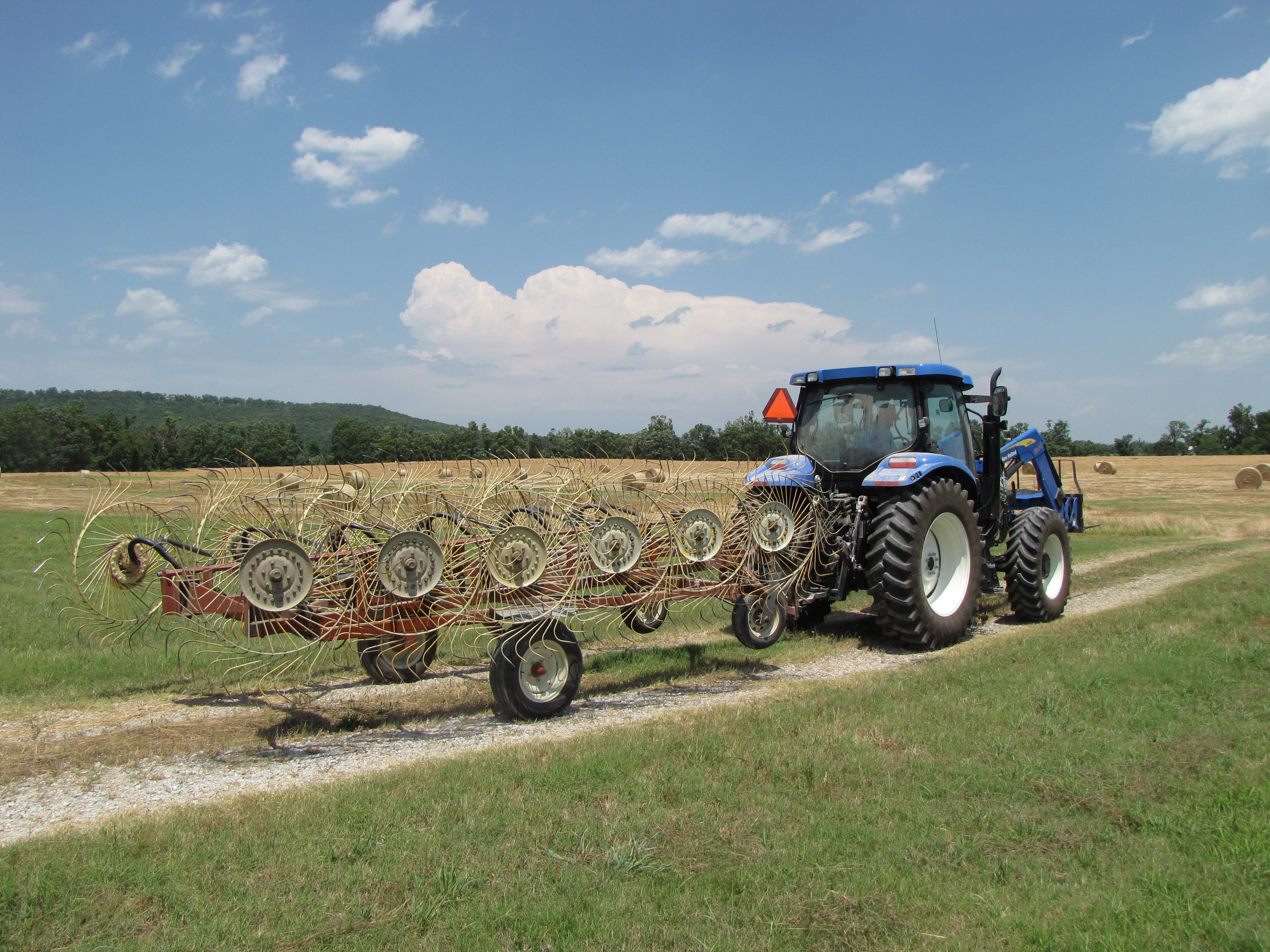 Biosolids Management Site - Tractor Pulling Implement
