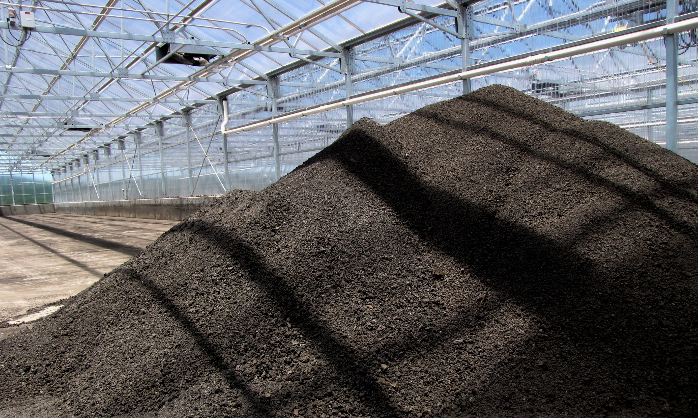 Solar Dried Biosolids