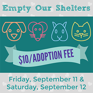 Empty Our Shelters Event