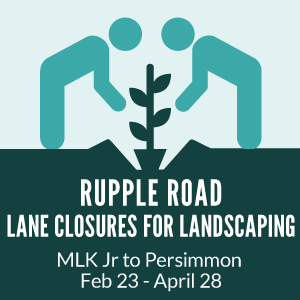 Rupple Road Lane Closures
