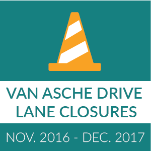 Van Asche Drive Closure