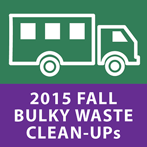 2015 Fall Bulky Waste Clean-up